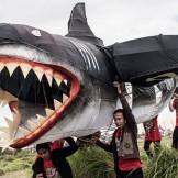 Bali Festival of Kites - Shark Kite