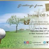 Grand Nikko 2nd Annual Golf Tournament 2015