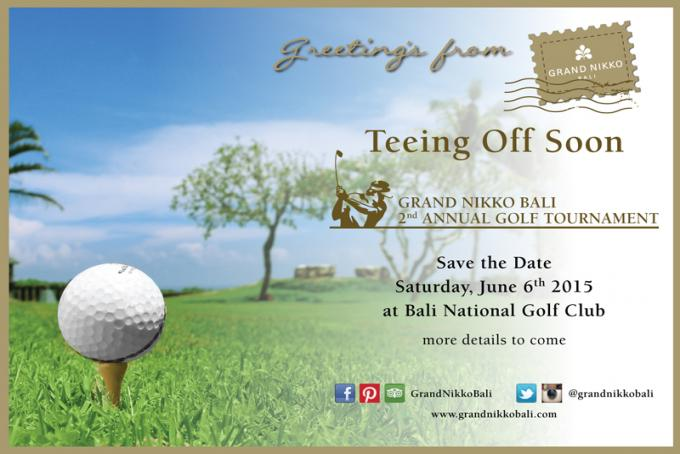 Grand Nikko 2nd Annual Golf Tournament 2015