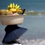 Villa Kouru - Woman Carrying Fruits